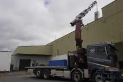 Truck  Mounted Crane  Hire